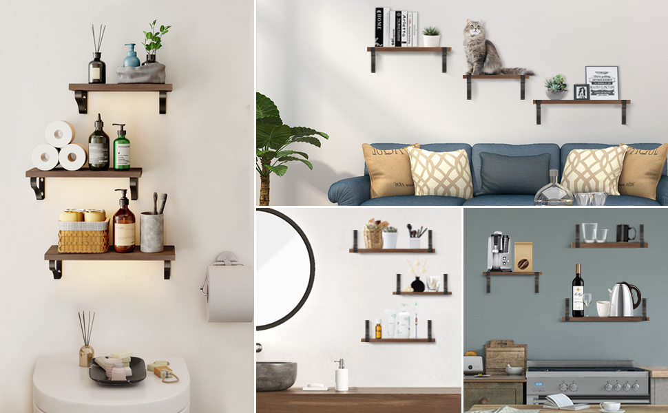 floating shelves wide floating shelves wall accent shelves wall mounted shelf wall mounted shelf