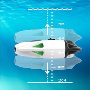 Vertical snorkeling