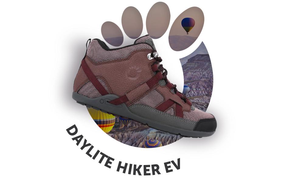 Amazon Com Xero Shoes Daylite Hiker Women S Barefoot Inspired Minimalist Lightweight Hiking Boot Zero Drop Trail Shoe Shoes