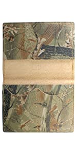 passport cover, passport wallet,  realtree brand, real tree camo, passport cover camouflage
