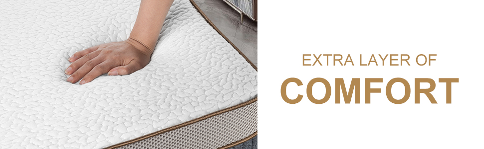 cooling gel memory foam mattress topper