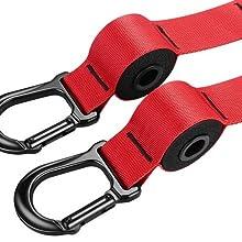 MAXBONA Trainer Kit de Entrenamiento en suspensión en casa – Correas de Resistencia para Gimnasio/Fitness en Interiores y Aire Libre – Home Gym Ligero ...