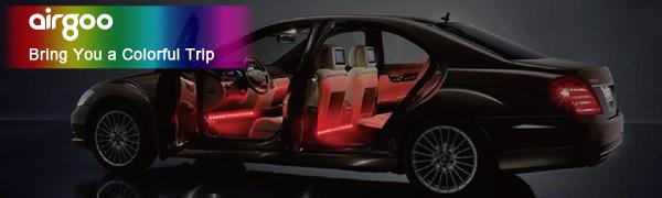 DreamColor Music Interior Car Lights App Control