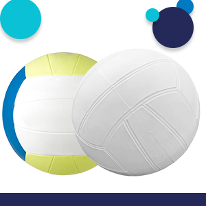 same size as regulation beach volleyball
