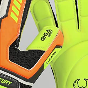Renegade GK Fury Volt Thumb Wraps and Giga Grip Embossed Palm