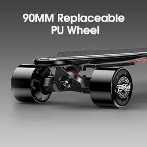 swappable PU Wheel