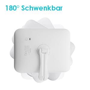 180° Schwenkbar