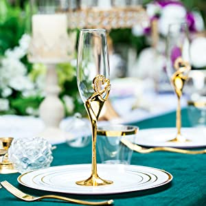 champagne glasses for weddinggifts