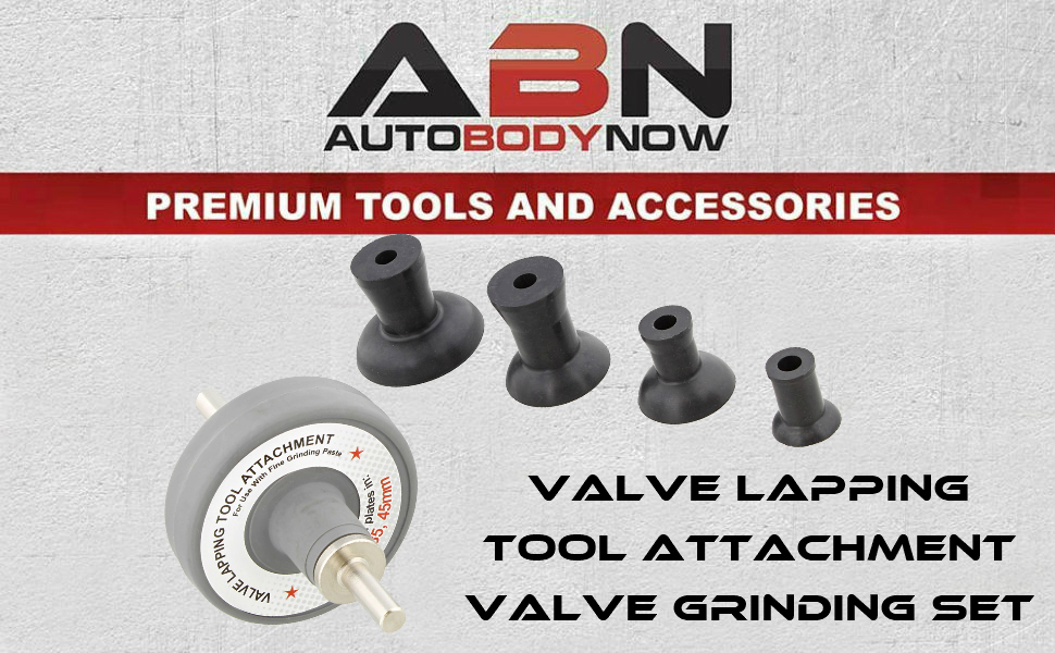 ABN Electric Drill Small Valve Lapping Tool Attachment Valve Grinding Set