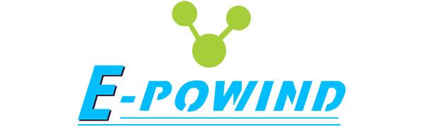 epowind logo - galaxy projector