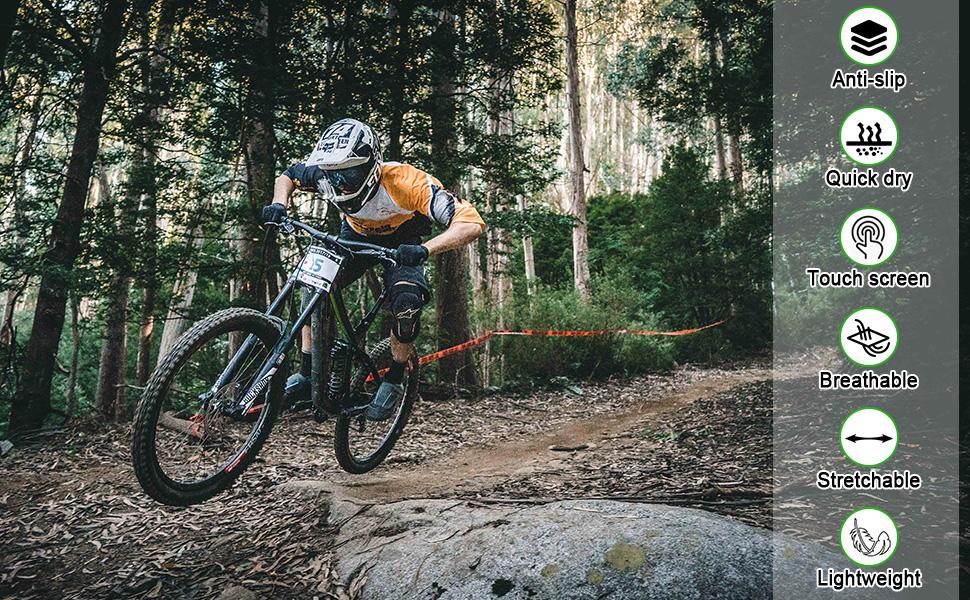 BOILDEG cycling gloves