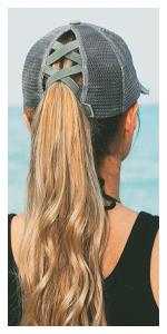 ponytail baseball cap ponycap