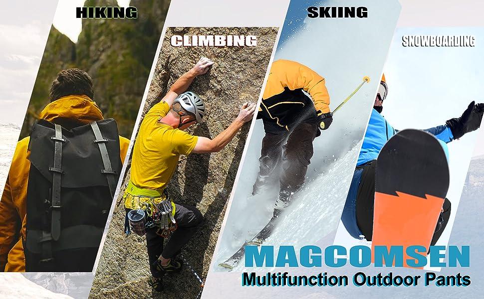 hiking pants mens waterproof