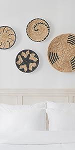 Wicker Wall Basket Decor