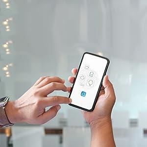 Telefono con app