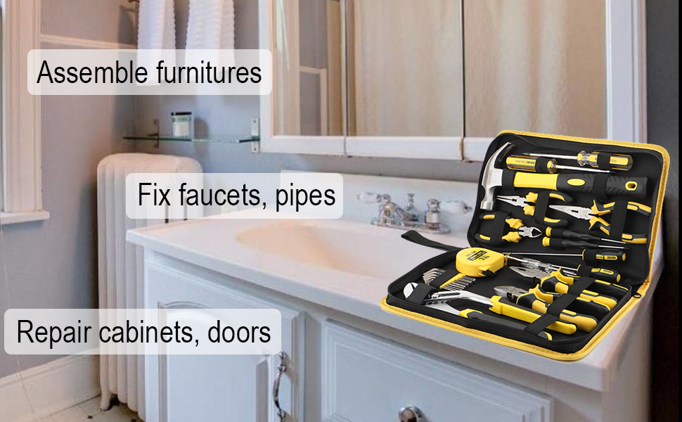 basic tool set kit home repair