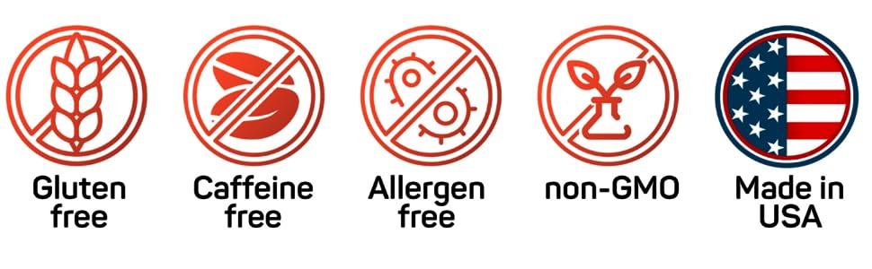 bhb keto diet pills keto supplement gluten free caffeine free allergen free non gmo made in usa