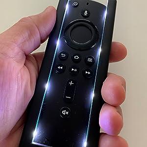 Fire Stick 4K Glow sticks Fire TV lighted remote light  LED remote replacement remote light