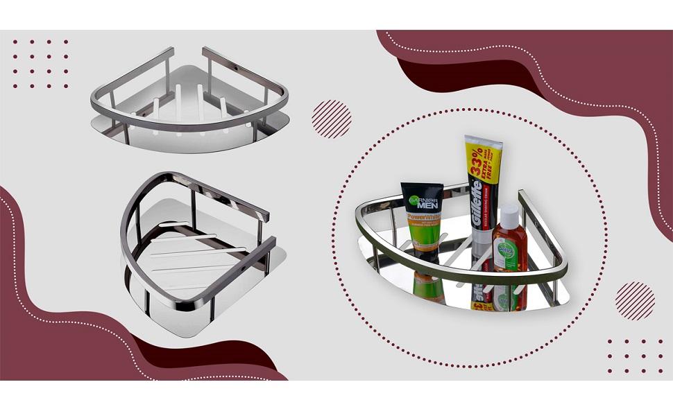 glass steel stainless stand u-s-f bath items roll 304 grade towel rod double dish-bathroom wall pla
