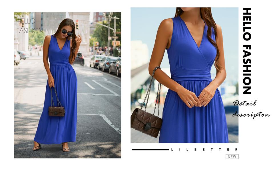 sleeveless maxi dresses