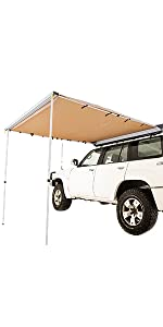 2.5x2.5m Side Awning