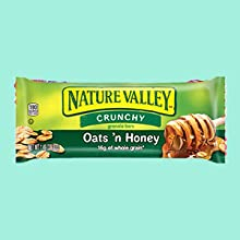 Granola and Cereal Bars Nature Valley Crunch Bar Sweet & Salty Fruit & Nut Quaker Chewy Bars