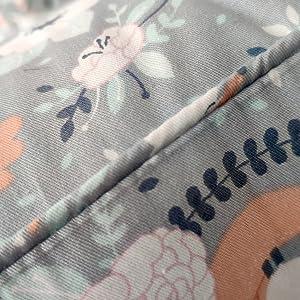 floral boho crib bedding