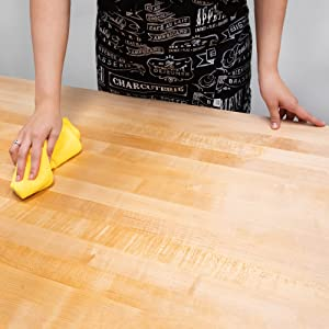 Sealing wood countertops and butcher blocks