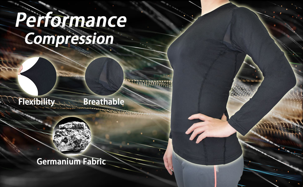 compression women gym fitness shirt breathable flexibility circulation running sports clothing wear
