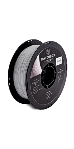 pla silk sliver 1.75mm 3d printer filament is an easy to use material with minmal warping