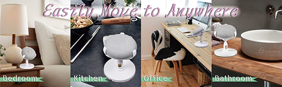 Sintron Table Holder For Google Home Mini & Google Nest Mini