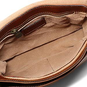 Floto leather bag, roma saddle bag, leather crossbody bag