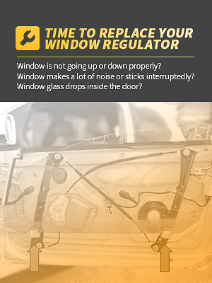 AUTOSAVER88 WINDOW REGULATOR