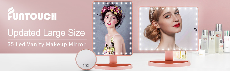 Light up Vanity Mirror with Led Lights