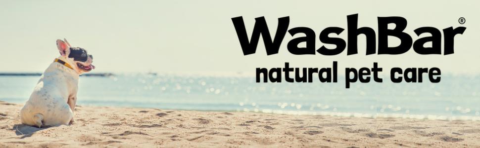 washbar dog soap shampoo beach clean wash