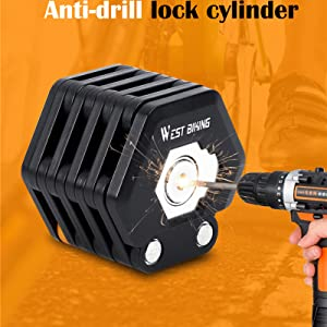 anti-drill lock cycling