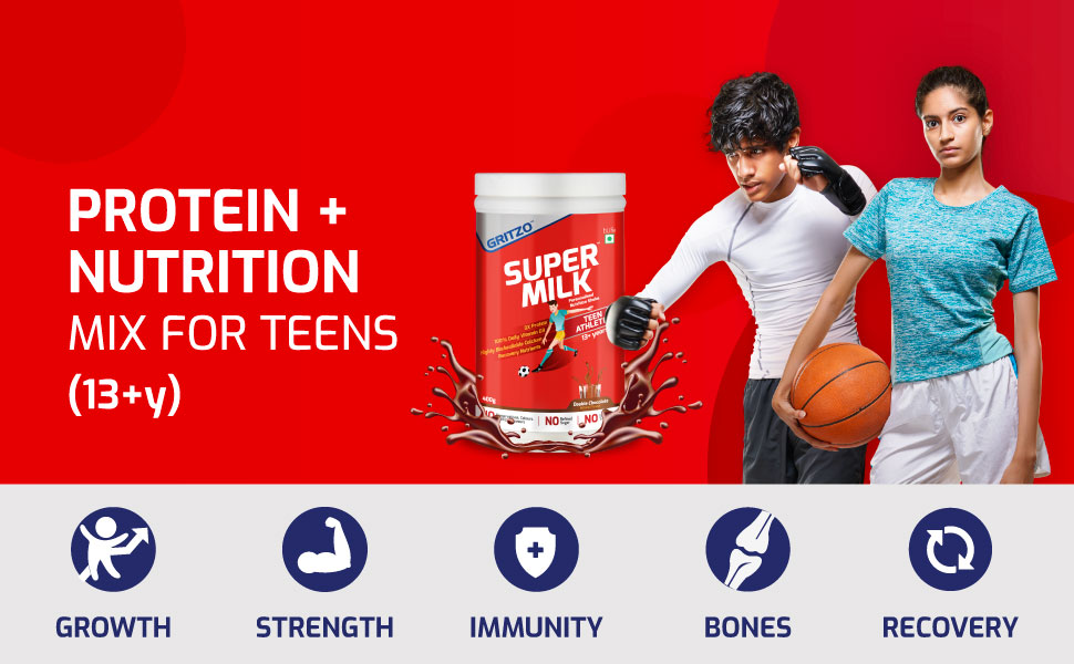 Protein + Nutrition Mix for Kids (13+y)