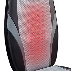 4 deep kneading massage nodes travel up and down relaxing your entire back. 3 massage Massage Zones