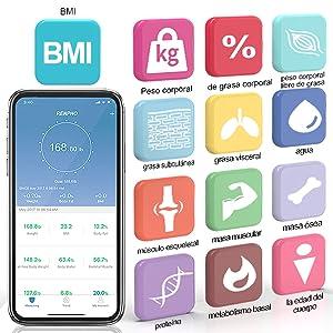 peso digital grasa corporal