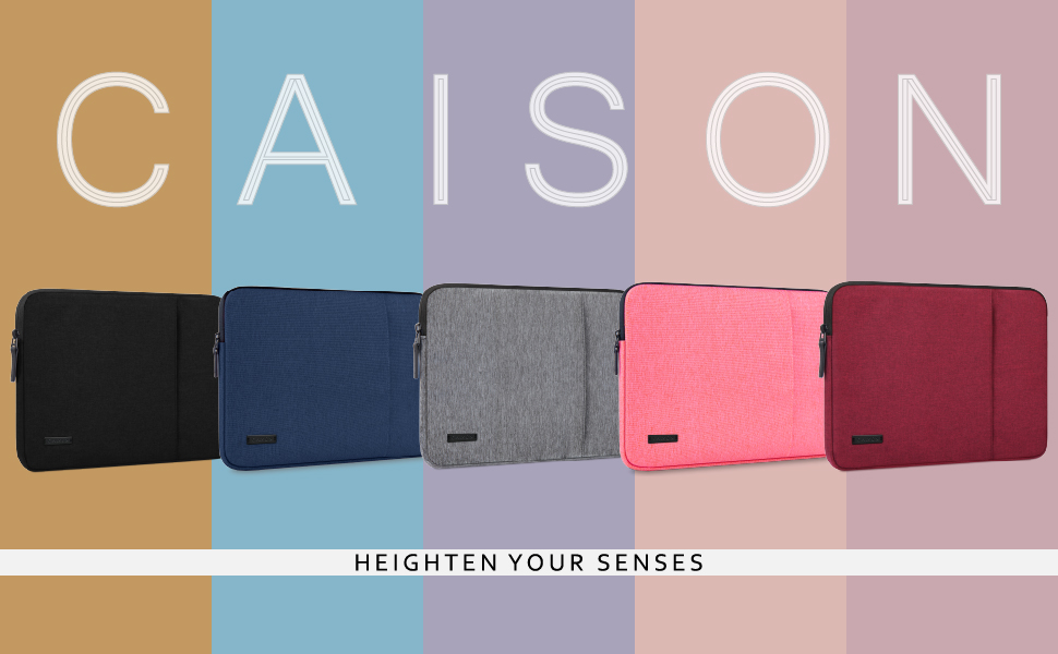 CAISON Laptop Sleeve Ultrabook Case for 13.5 inch Microsoft Surface Book 2/14