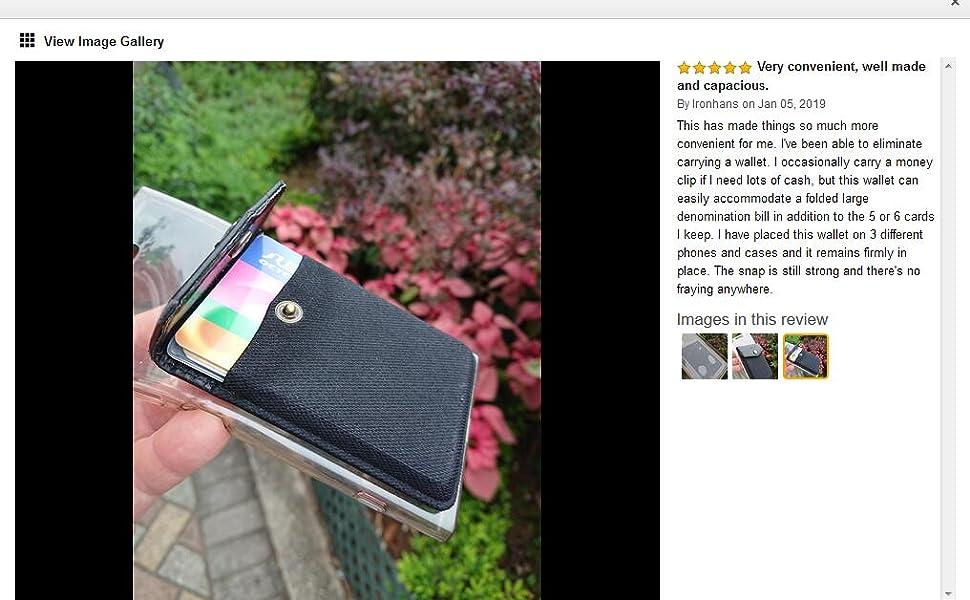 Ultra-Slim Self Adhesive Credit Card Holder Wallet