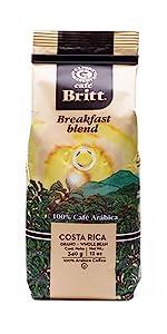 Costa Rican Breakfast Blend Coffee Costa Rica Coffee Beans