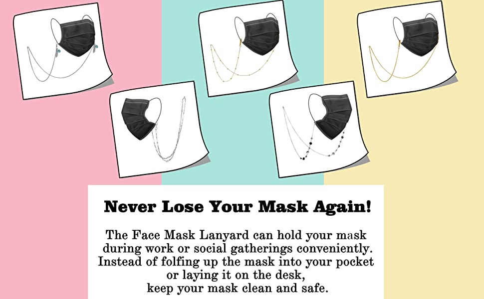 never lose your mask again