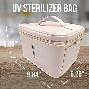 phone sanitizer bag uv disinfection box