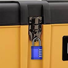 toolbox drawer cabinet pantry pelican case gun case combination padlock code locks