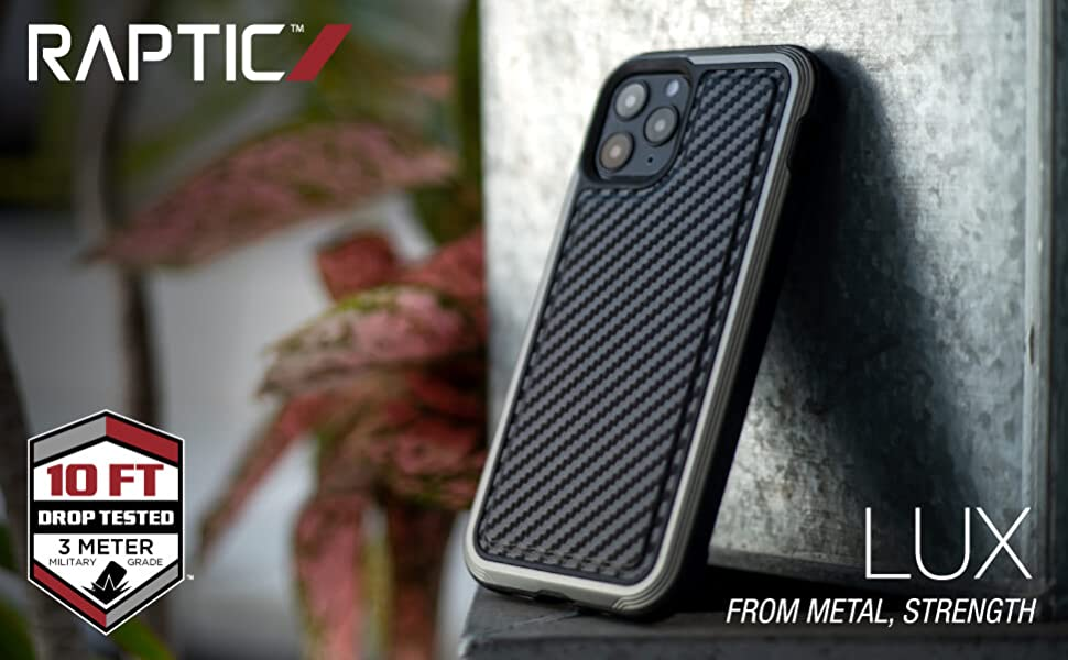 x-doria defense raptic lux expensive carbon fiber stylish rugged luxurious iphone case leather panel