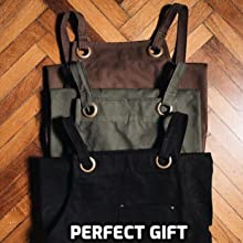 work shop apron for men for woman gift box for him for her