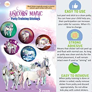 potty training reward stickers