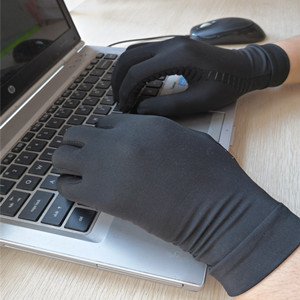 Type with Compression Glove