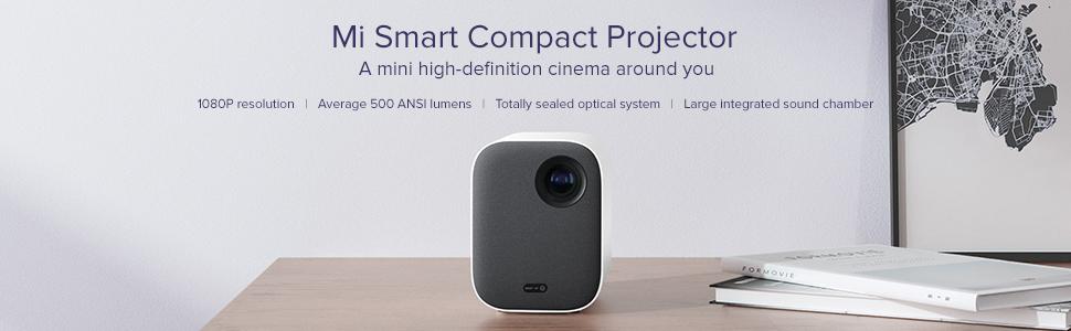 mi smart compact projector, projector, xiaomi, mi